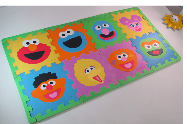 HZ-M1012,Kid's cartoon EVA foam mats